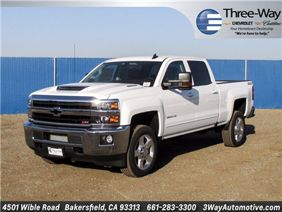 2018 Silverado 2500 Crew Cab 4x4 Pickup #914656K - photo 3