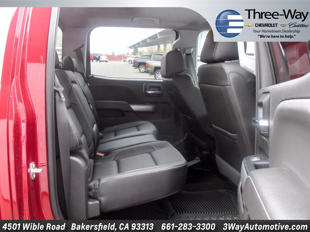 2018 Silverado 2500 Crew Cab 4x4 Pickup #914779K - photo 18