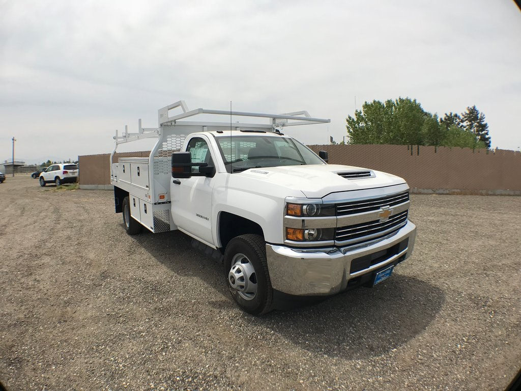 2018 Silverado 3500 Regular Cab DRW 4x2,  Knapheide Contractor Body #915922K - photo 1