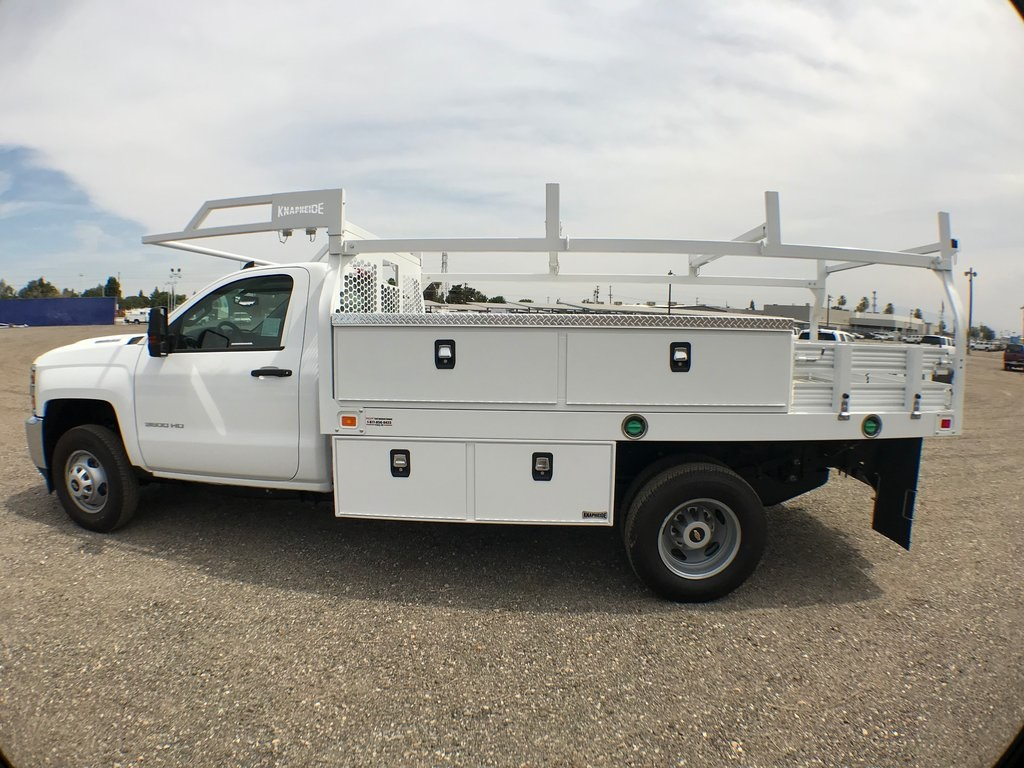 2018 Silverado 3500 Regular Cab DRW 4x2,  Knapheide Contractor Body #915922K - photo 6