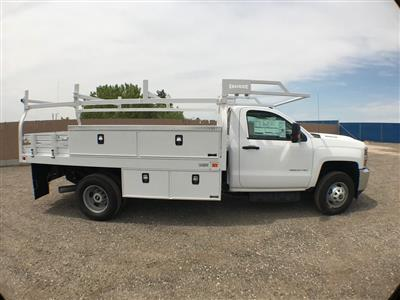 2018 Silverado 3500 Regular Cab DRW 4x2,  Knapheide Contractor Body #915922K - photo 3
