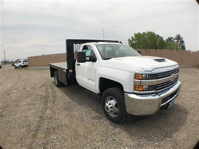 2018 Silverado 3500 Regular Cab DRW 4x2,  Knapheide Value-Master X Platform Body #916133K - photo 1