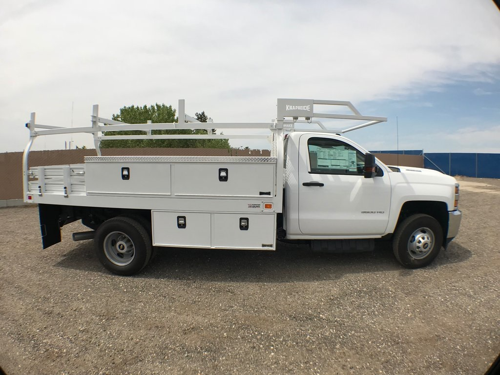 2018 Silverado 3500 Regular Cab DRW 4x2,  Knapheide Contractor Body #916223K - photo 3
