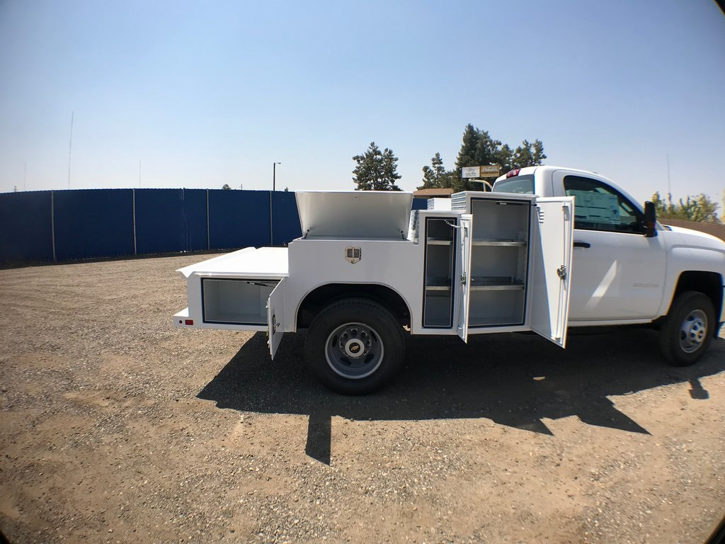 2018 Silverado 3500 Regular Cab DRW 4x2,  Ironside Welder Body #916742K - photo 10