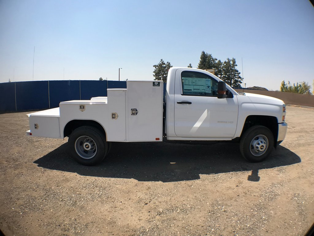 2018 Silverado 3500 Regular Cab DRW 4x2,  Ironside Welder Body #916742K - photo 3
