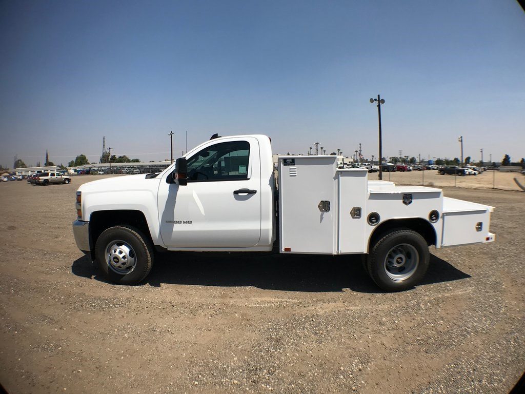 2018 Silverado 3500 Regular Cab DRW 4x2,  Ironside Welder Body #916742K - photo 6