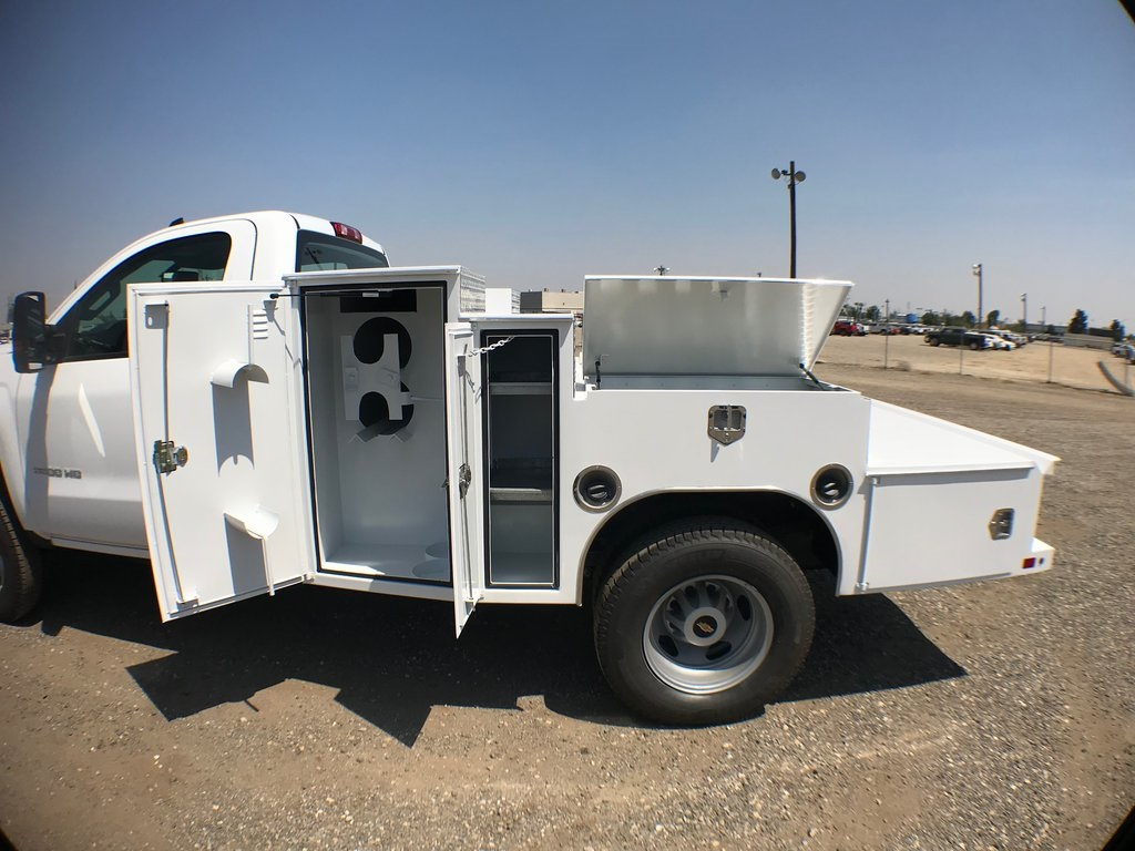 2018 Silverado 3500 Regular Cab DRW 4x2,  Ironside Welder Body #916742K - photo 7