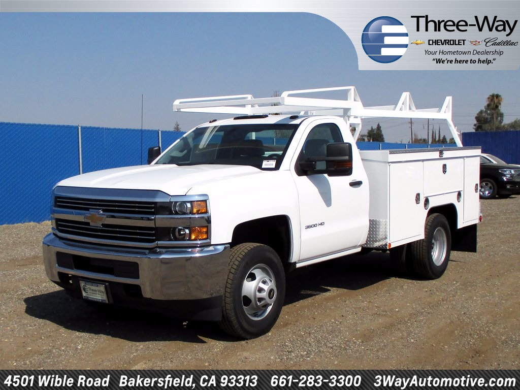 2016 Silverado 3500 Regular Cab, Service Body #919511J - photo 3