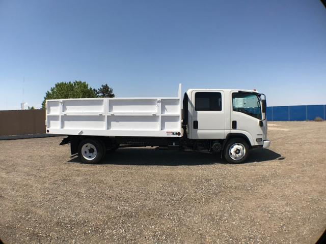 2017 Low Cab Forward Crew Cab 4x2,  Ironside Landscape Dump #945162K - photo 3