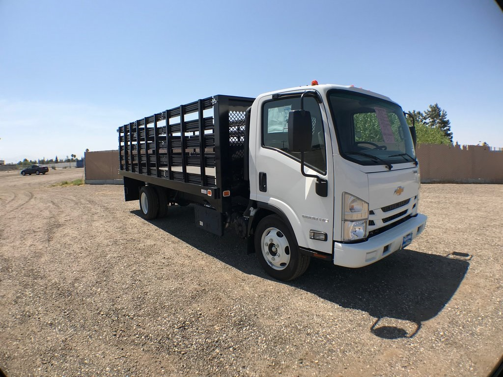 2018 LCF 5500HD Regular Cab 4x2,  Knapheide Value-Master X Stake Bed #946241K - photo 1