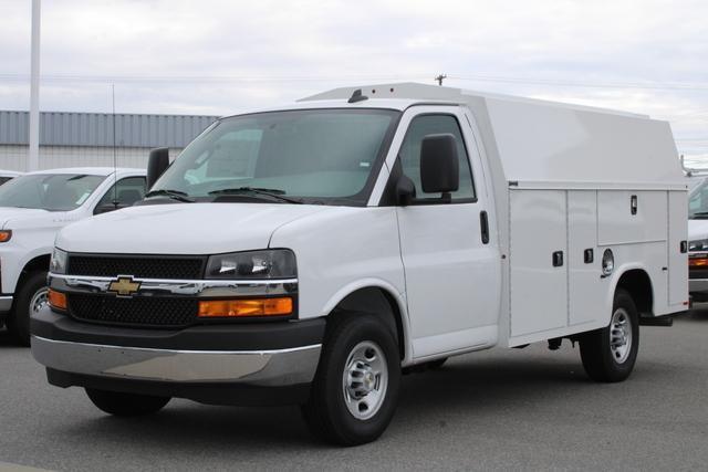2021 Chevrolet Express 3500 4x2, Knapheide KUV Service Utility Van #M161740 - photo 4