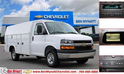 2021 Chevrolet Express 3500 4x2, Knapheide KUV Service Utility Van #M161740 - photo 1