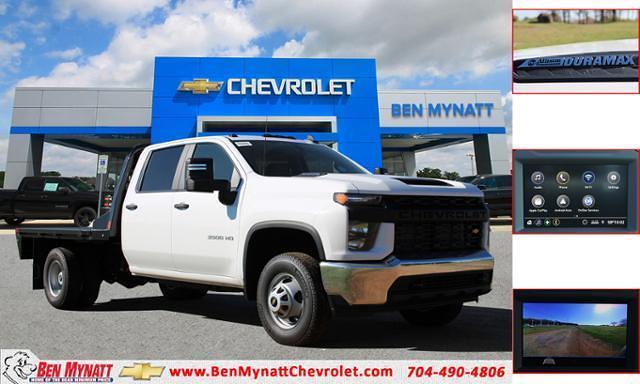 2021 Chevrolet Silverado 3500 Crew Cab 4x4, CM Truck Beds Platform Body #M194411 - photo 1
