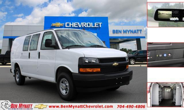 2020 Chevrolet Express 2500 RWD, Masterack Upfitted Cargo Van #M205414 - photo 1