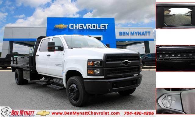 2020 Chevrolet Silverado 4500 Crew Cab DRW RWD, Knapheide Contractor Body #M590640 - photo 1
