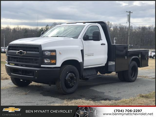 2019 Chevrolet Silverado 4500 Regular Cab DRW 4x2, Knapheide PGND Gooseneck Platform Body #M610112 - photo 6