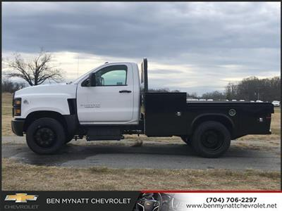 2019 Chevrolet Silverado 4500 Regular Cab DRW 4x2, Knapheide PGND Gooseneck Platform Body #M610112 - photo 5