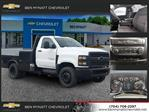 2019 Chevrolet Silverado 4500 Regular Cab DRW 4x2, Knapheide PGND Gooseneck Platform Body #M610112 - photo 1