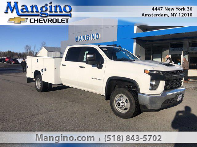 2021 Chevrolet Silverado 3500 Crew Cab AWD, Knapheide Service Body #2512721 - photo 1