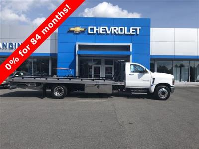 2019 Silverado Medium Duty Regular Cab DRW 4x2,  Miller Industries Chevron Rollback Body #550919 - photo 1