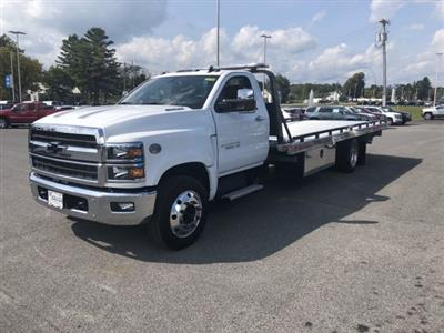 2019 Silverado Medium Duty Regular Cab DRW 4x2,  Miller Industries Chevron Rollback Body #550919 - photo 4