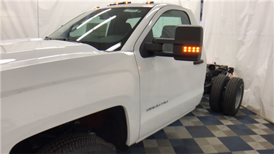 2017 Silverado 3500 Regular Cab 4x4 Cab Chassis #T170770 - photo 5