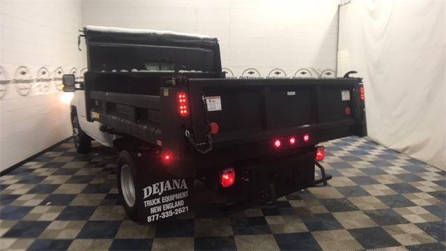 2018 Silverado 3500 Regular Cab DRW 4x4, Dump Body #T181008 - photo 6