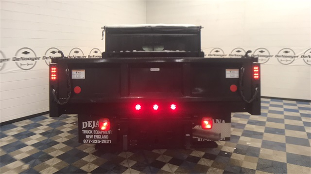 2018 Silverado 3500 Regular Cab DRW 4x4, Dump Body #T181008 - photo 7