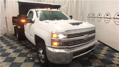 2018 Silverado 3500 Regular Cab DRW 4x4, Dump Body #T181008 - photo 1