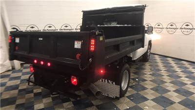 2018 Silverado 3500 Regular Cab DRW 4x4, Dump Body #T181008 - photo 2