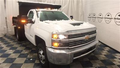2018 Silverado 3500 Regular Cab DRW 4x4,  Rugby Eliminator LP Steel Dump Body #T181020 - photo 1