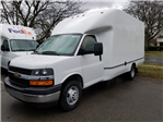 2018 Express 3500,  Dejana Truck & Utility Equipment Service Utility Van #T181108 - photo 1