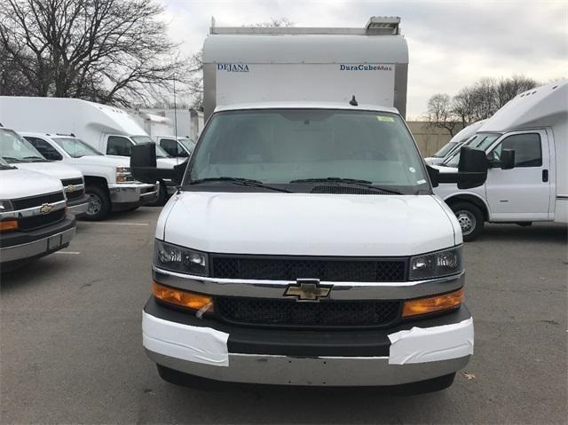 2018 Express 3500 4x2,  Dejana Truck & Utility Equipment DuraCube Max Service Utility Van #T182165 - photo 4