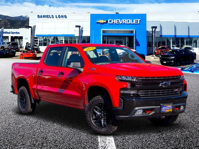2019 Silverado 1500 Crew Cab 4x4,  Pickup #DT04767 - photo 1