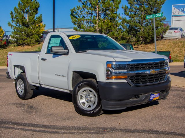 2018 Silverado 1500 Regular Cab 4x4,  Pickup #DT06495 - photo 3
