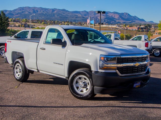 2018 Silverado 1500 Regular Cab 4x4,  Pickup #DT07256 - photo 3