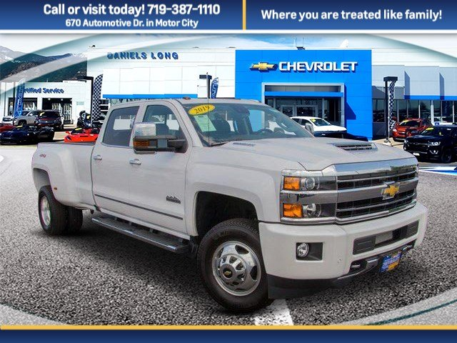 2019 Silverado 3500 Crew Cab 4x4,  Pickup #DT09463 - photo 1