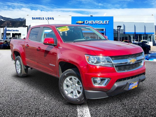 2018 Colorado Crew Cab 4x4,  Pickup #DT46832 - photo 1