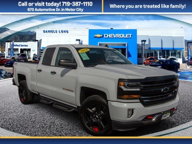 2018 Silverado 1500 Double Cab 4x4, Pickup #DT66767 - photo 1