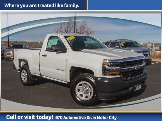 2017 Silverado 1500 Regular Cab 4x4 Pickup #W4347 - photo 3