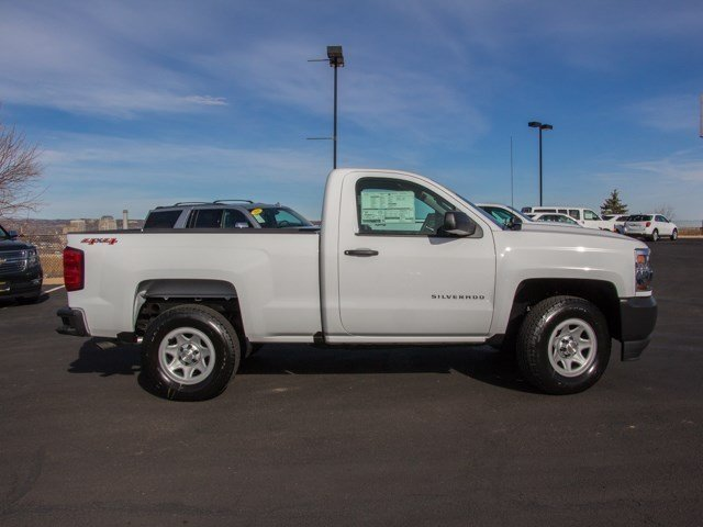 2017 Silverado 1500 Regular Cab 4x4 Pickup #W4347 - photo 4