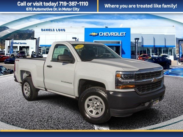 2017 Silverado 1500 Regular Cab 4x4 Pickup #W4347 - photo 1