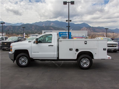 2017 Silverado 2500 Regular Cab 4x4, Knapheide Standard Service Body #W4528 - photo 4