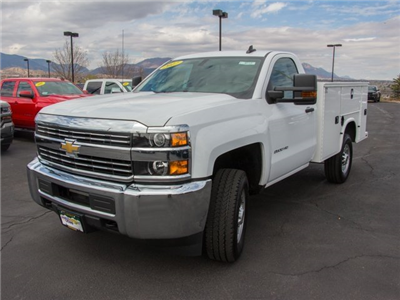 2017 Silverado 2500 Regular Cab 4x4, Knapheide Standard Service Body #W4528 - photo 5