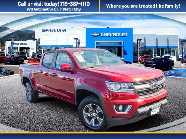 2018 Colorado Crew Cab 4x4 Pickup #X5082 - photo 1