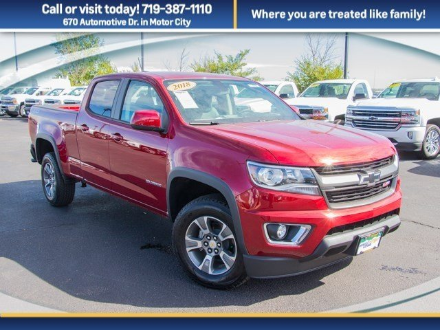 2018 Colorado Crew Cab 4x4 Pickup #X5082 - photo 3