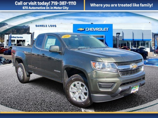 2018 Colorado Extended Cab 4x4, Pickup #X5152 - photo 1
