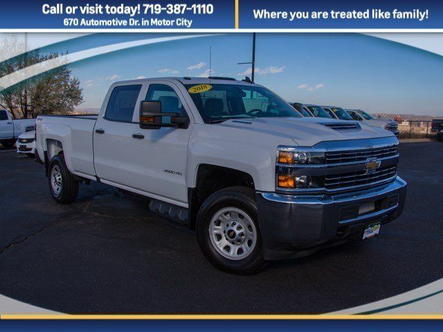 2018 Silverado 3500 Crew Cab 4x4 Pickup #X5162 - photo 3