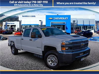 2018 Silverado 3500 Crew Cab 4x4 Pickup #X5162 - photo 1