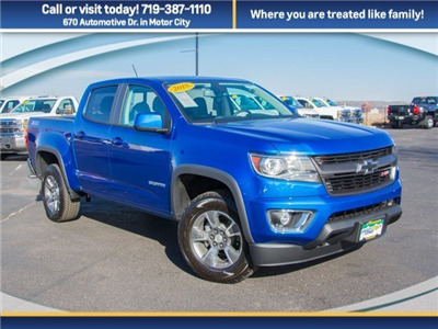 2018 Colorado Crew Cab 4x4, Pickup #X5210 - photo 3